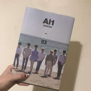 Seventeen Al1 album with postcard