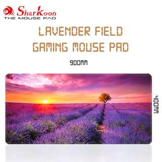 Lavender Field Gaming Mouse Pad