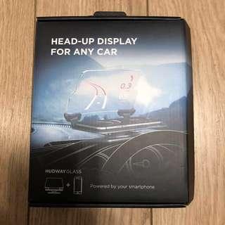 HUDWAY Glass 汽車抬頭投影顯示屏