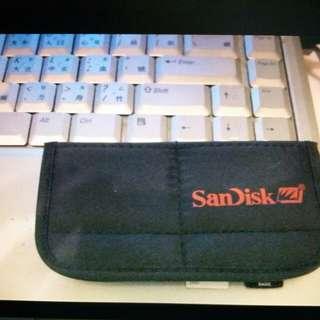 SanDisk 軟棉記憶卡套