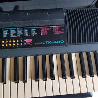 Casio CTK 480 61 Key Musical Keyboard