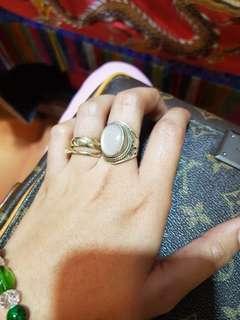 ORIGINAL TIBETAN NEPAL RING STONE