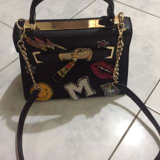 Authentic Aldo bag with sling