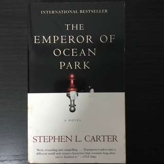 The Emperor of Ocean Park Book by Stephen L. Carter