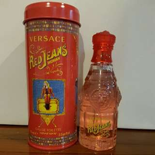 Versace Red Jeans EDT for Woman