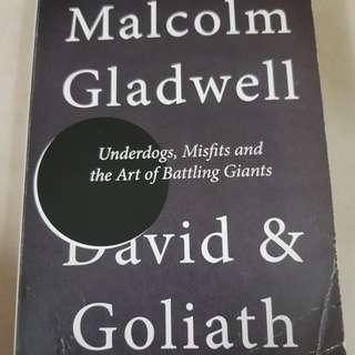 David & Goliath by Malcom Gladwell