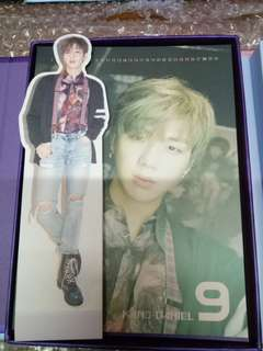 WTS WANNA ONE KANG DANIEL WANNA VERSION CALENDAR CARD AND STANDEE