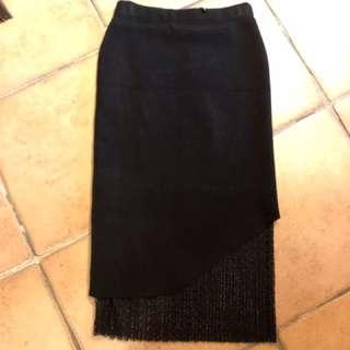 🚚 拼布造型長裙