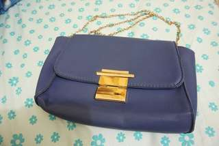Blue Sling Bag (Casual / Party)