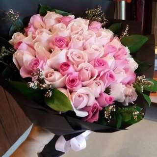 50 ROSES BOUQUET VALENTINE'S DAY DISCOUNT