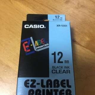 Casio XR-12X1 Label Printer