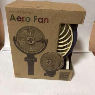 Rechargeable Aero fan