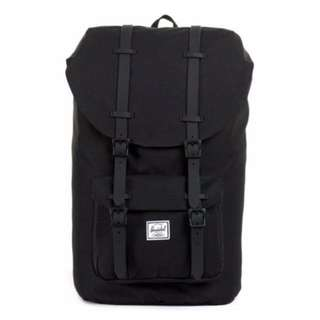Backpack- Herschel Supply Co. Full Vol. black Matt 25L