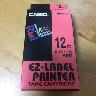 Casio XR-12RD1 Label Printer