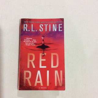 Red Rain by RL Stine