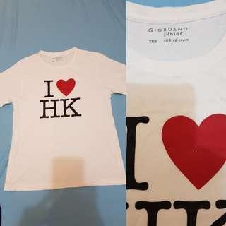 I Love HK Giordano Shirt