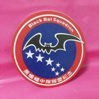 🚚 黑蝙蝠中隊 陶瓷吸水杯墊