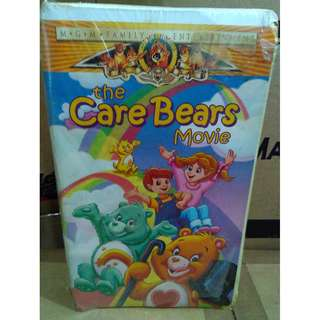 MGM Family Entertainment the Care Bear Movie VHS Tape Sealed In Shrink Wrap