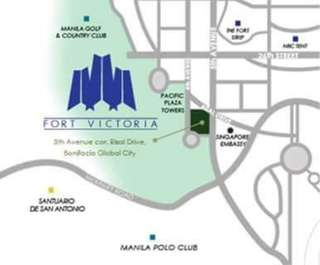 For Sale 2 Bedroom Unit Condominium in Bonifacio Global City