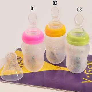 Silicone Squeeze Feeder /feeder bayi/ botol sendok