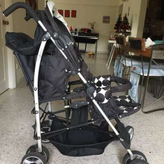 Two-seats stroller bought new in 2016 and used for 6 months