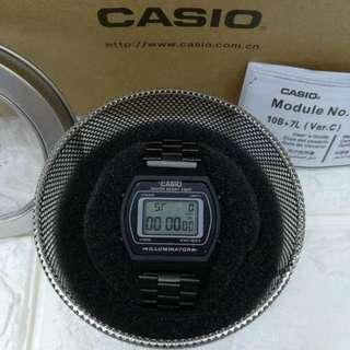 Casio Vintage Matte Black