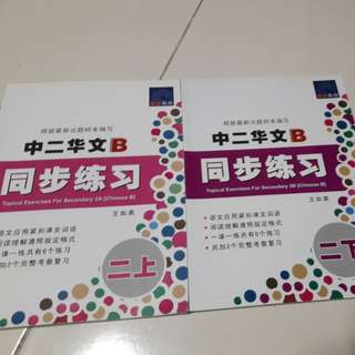 Chineae assessment book for sec 2 express