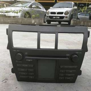 Original Toyota Vios Cd Player