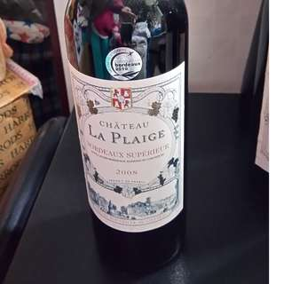 2008 Chateau La Plaige, BORDEAUX SUPERIEUR, FRANCE