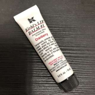 包郵 Kiehl's lip balm cranberry 15ml