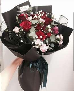 Valentine Day Fresh Flower Rose
