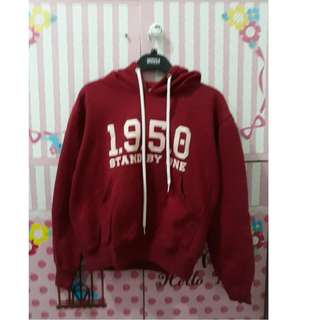 hoodie maroon