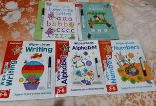 Write, Wipe-Clean Series Usborne