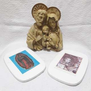 Holy family and other religious items