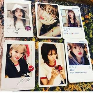twicetagram 小卡 photocard twice tzuyu sana momo mina