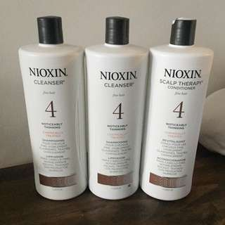 REDUCED Nioxin shampoo and conditioner