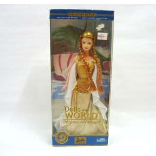 Inc Pos: Barbie Dolls of the World - Princess of the Vikings 2003 Collector Edition