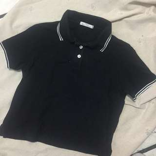 Marks&Spencer Cropped Polo Shirt