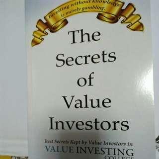 The secrets of value investors book