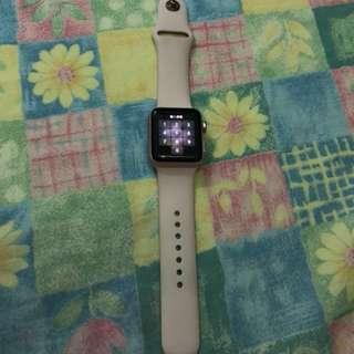 Apple Watch series2 玫瑰金 38m