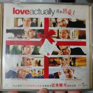 Vcd, love actually 真的戀愛了