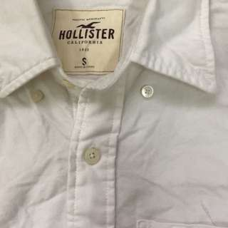 Hollister Shirt (white)