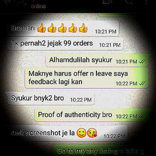 Buntat lipan authenticity n aura booster luck booster wealth booster x3