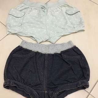 Uniqlo girl shorts