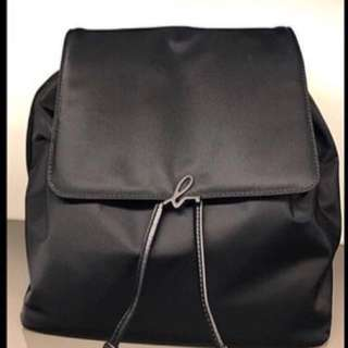 agnes b backpack (black)
