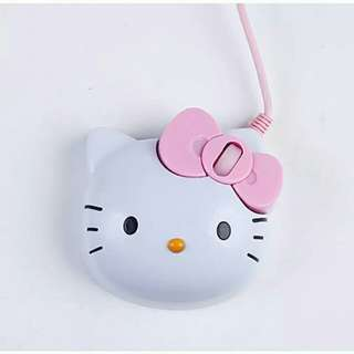 Wired Mouse (hello kitty)