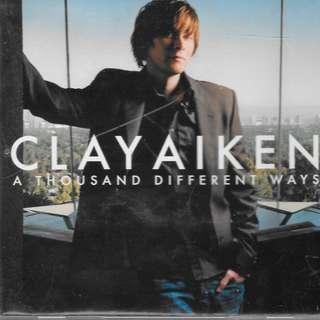 MY CD - CLAY AIKEN - A THOUSAND DIFFERENT WAYS