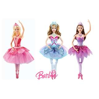 Inc Pos: Barbie in the Pink Shoes Ballerina doll set 2013