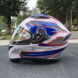Malushu Racing Full Face Helmet