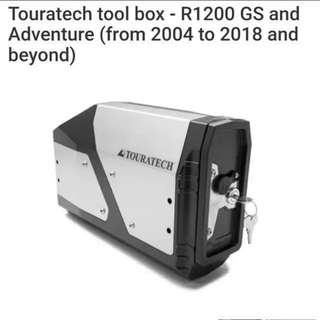 Touratech tool box - R1200 GS Adventure from 2004 to 2018